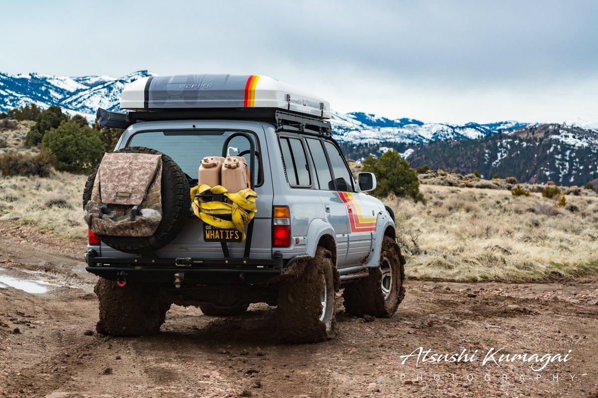 When I said it was muddy in Nevada, I wasn't kidding.  #mud #Overland #offroad #camping #adventure #4x4 #lx450 #landcruiser #lexus #toyota #outdoors #nikonphotographypic.twitter.com/2VN4fjVhvI