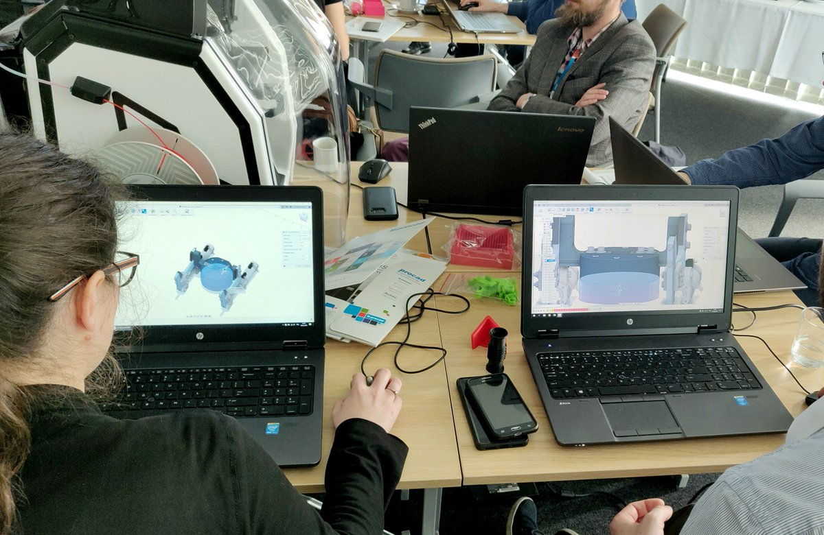 #3DGence engineer is currently conducting training dedicated to #3Dprinting technology in Gdańsk!