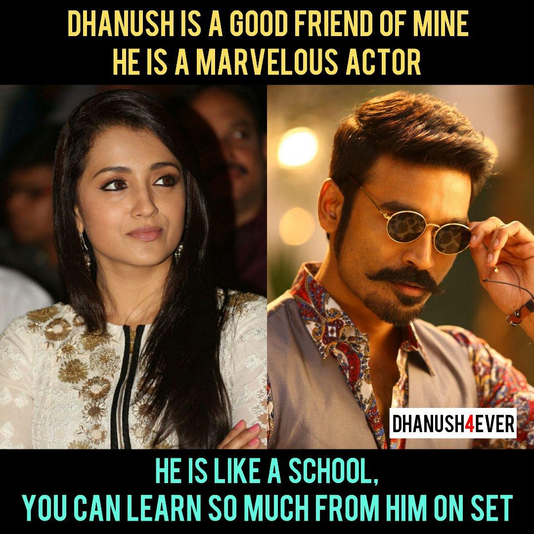 @trishtrashers About Our @dhanushkraja At @jfwmagofficial 😍  @dhanushkraja - PowerHouse Of Talent 😎  #Dhanush #Trisha #dhanush4ever ❤️