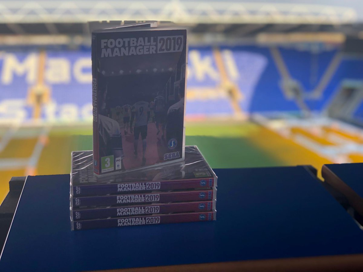 We've got 5⃣ copies of @FootballManager to give away! 🤩  RT this tweet and give our #RFCAcademy account a follow. Winners will be contacted tomorrow at 12pm...  #ReadingFC