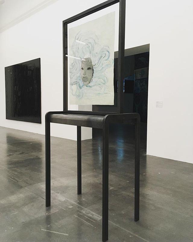Wonderful works by Ellen Gallagher at @wiels_brussels. #wiels #bruxelles #mixed #media #art #work #show https://ift.tt/2JMd7Fi