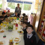 #Spring #Breakfast our Year 1 boys made & enjoyed tucking into a delicious breakfast. Dippy eggs toast soldiers & freshly squeezed orange juice #yummyfood  All using delightful pottery eggcups made in DT #learningisfun @intSchools @School_HouseM @PrepSchoolMag @GoodSchoolsUK