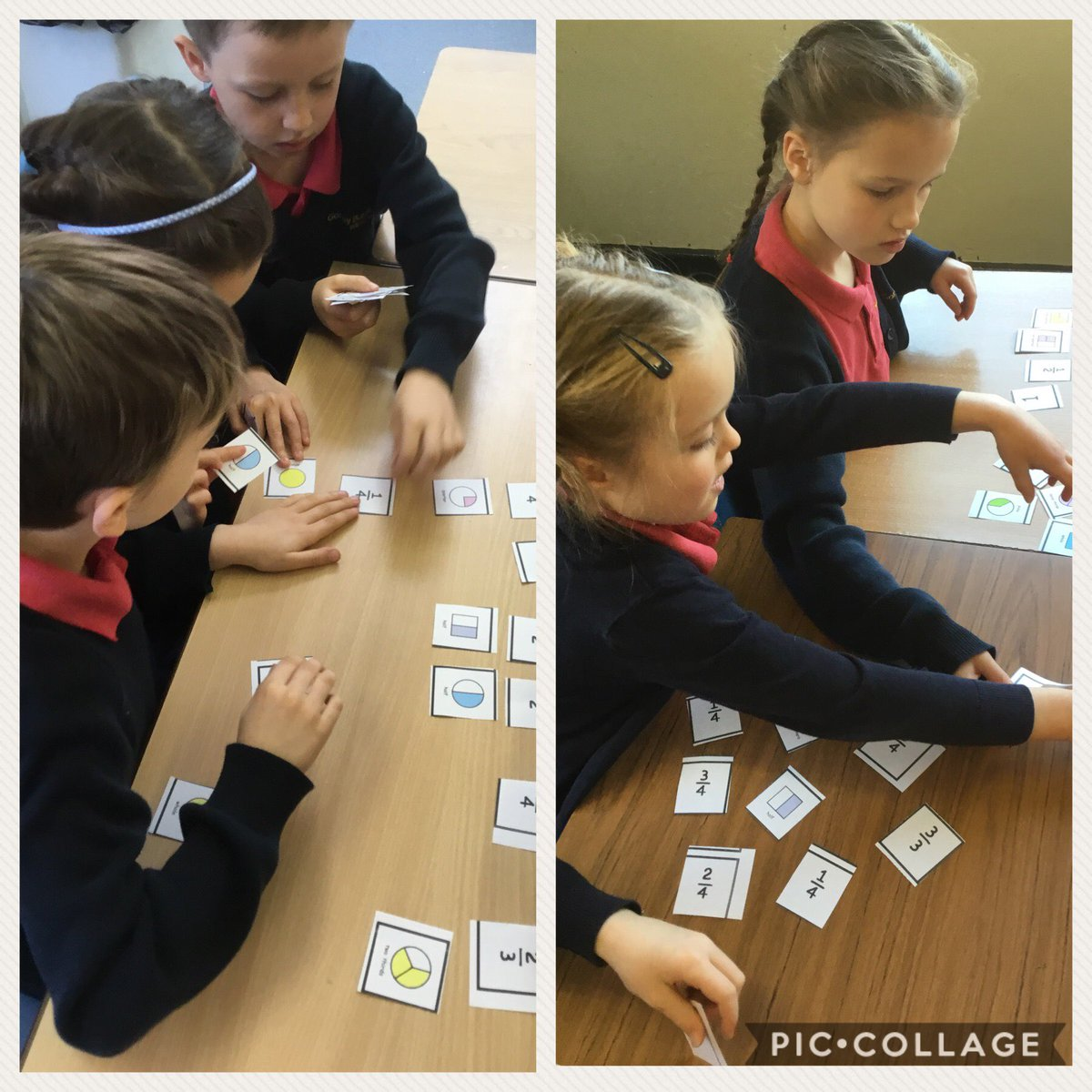 test Twitter Media - Year 2 are smashing matching fractions today in maths! #gorseymaths https://t.co/nEAOsAMUab