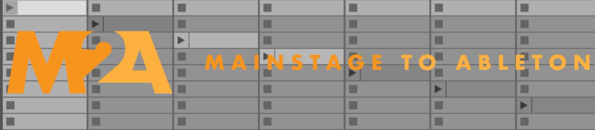 Mainstage To Ableton (@MStoAbleton) | Twitter