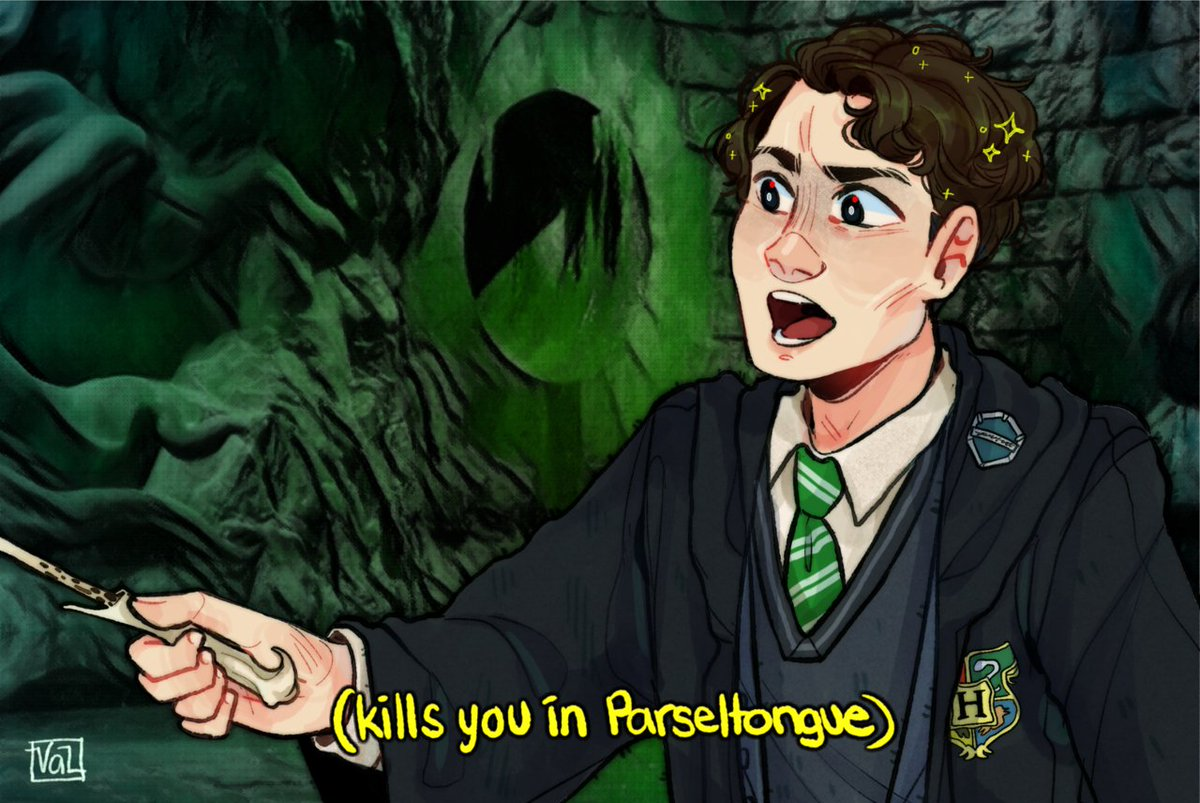 tomriddle hashtag on Twitter