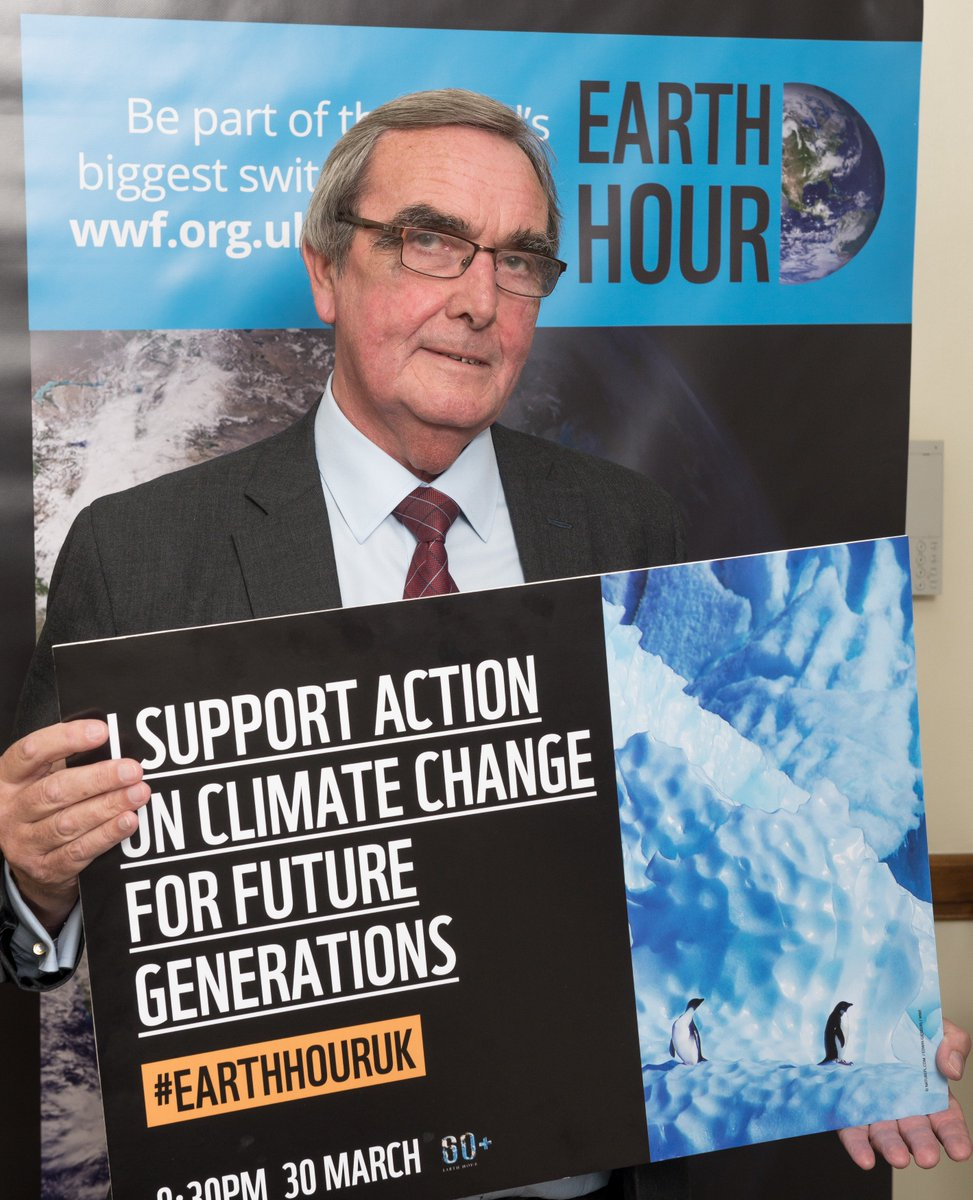 I'm joining #EarthHourUK to support a New Deal for Nature and People to reverse the damage and restore nature. Join me in this global movement by switching off your lights on the 30 March at 8.30pm. #VoiceForThePlanet