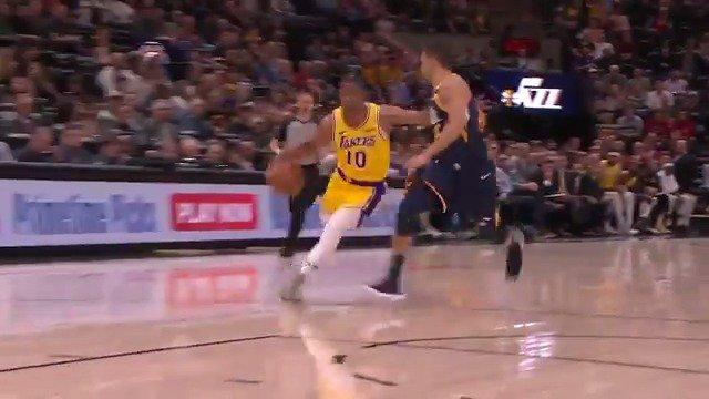 VAI BRASIL! Em 15 minutos em quadra, @_ScottMachado anotou 7 PTS, 3 AST e uma roubada de bola pelos @Lakers. Confira os lances do armador! 🇧🇷 #NBAnaESPN #LakeShow