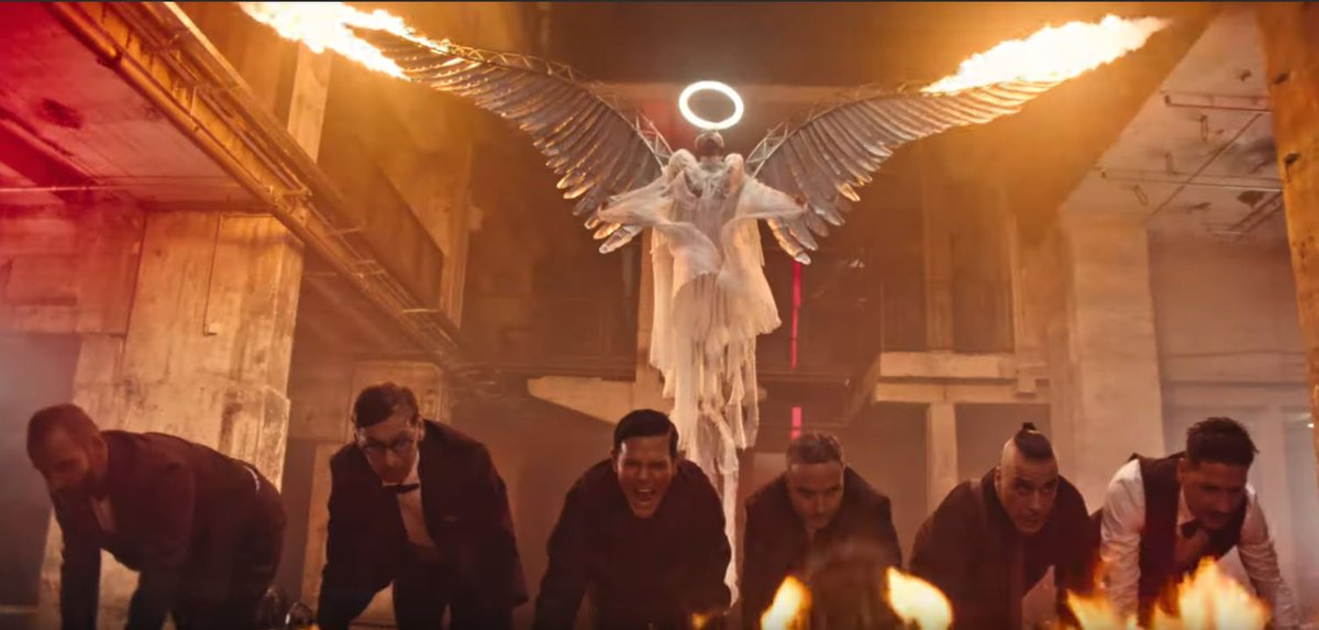 I can say i love new video by Rammstein - Deutschland, awesome. And i feel like i got a few new inspirations.