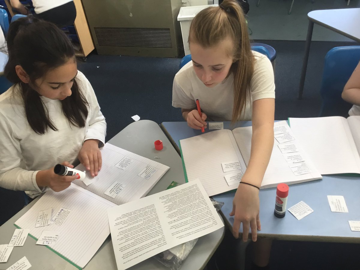 test Twitter Media - We are creating a timeline about civil rights in America in our history lesson #gorseyhistory https://t.co/i87Met1Nzo