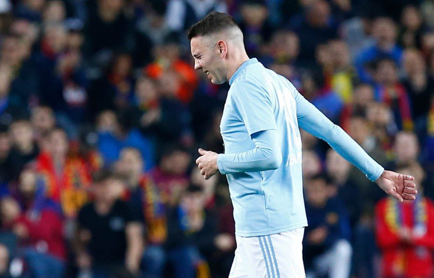 El RC Celta durante la lesión de Iago Aspas  ❌ #CeltaAthletic 1-2 ❌ #RayoCelta 4-2 ❌#CeltaValencia 1-2 ❌ #RealValladolidCelta 2-1 ✅#CeltaSevilla 1-0 ❌#GetafeCelta 3-1 ❌ #CeltaLevante 1-4 ⭕️ #AlavésCelta 0-0 ❌ #EibarCelta 1-0 ❌ #CeltaBetis 0-1 ❌ #RealMadridCelta 2-0