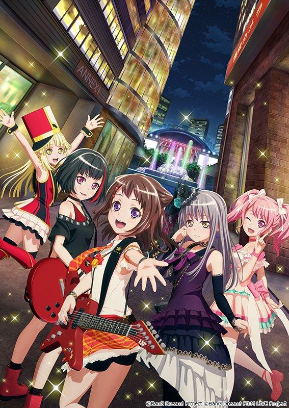 剧场版《BanG Dream! FILM LIVE》释出前售卷、剧场物贩、剧中歌曲精选集、来场特典等情报 动漫资讯 第7张