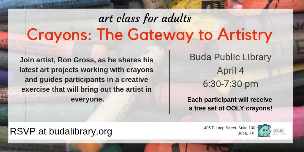 Buda Public Library (@BudaLibrary) | تويتر