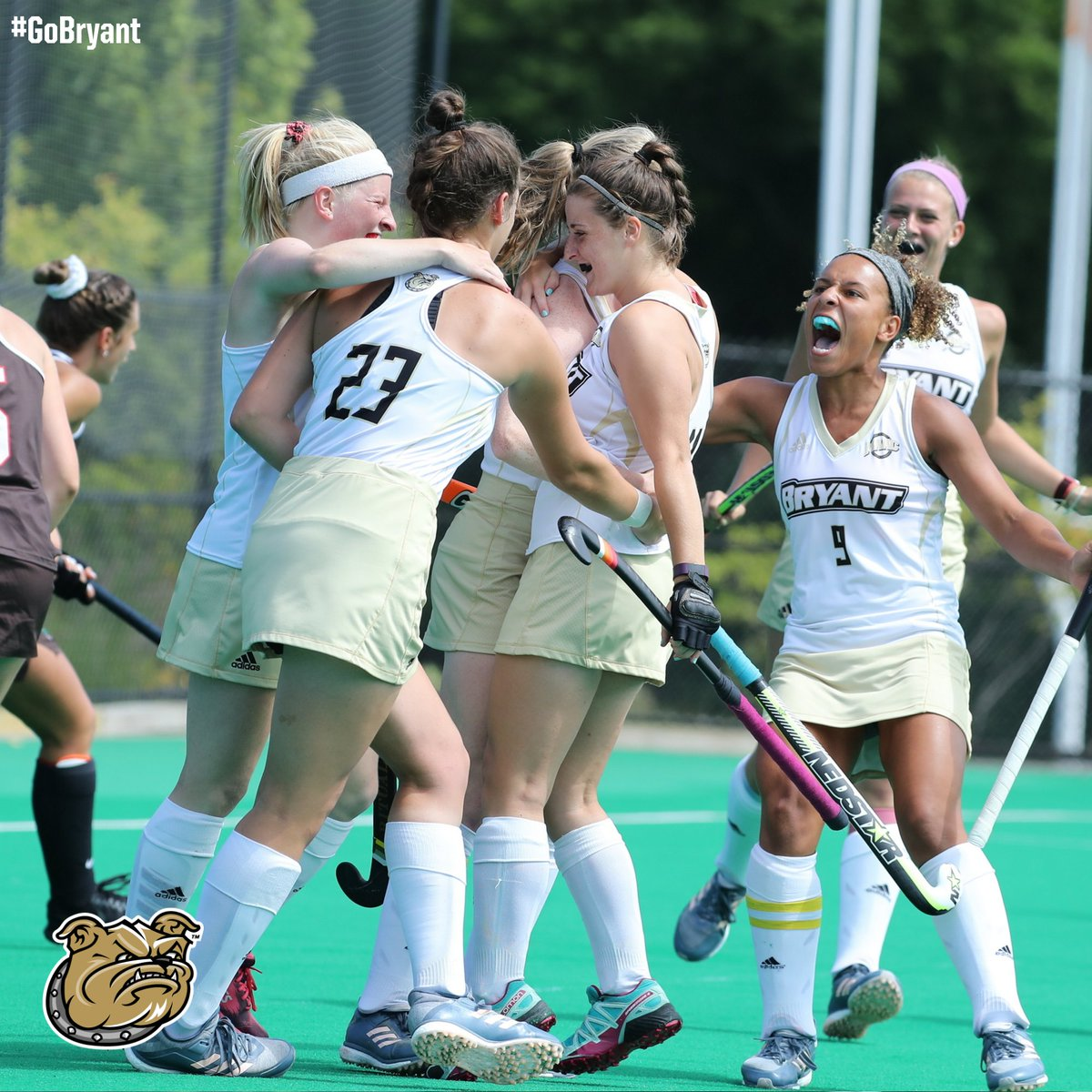 Less than an hour is remaining in the Jeff Doppelt '73 Black and Gold Challenge!   http://BryantBulldogs.com/giving   #GoBryant