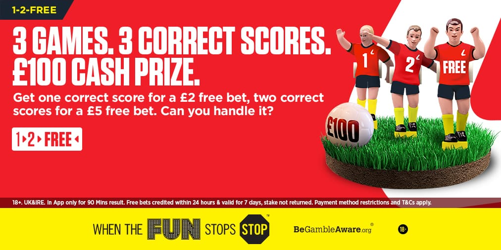 One out our shout ladbrokes betting make bets on football