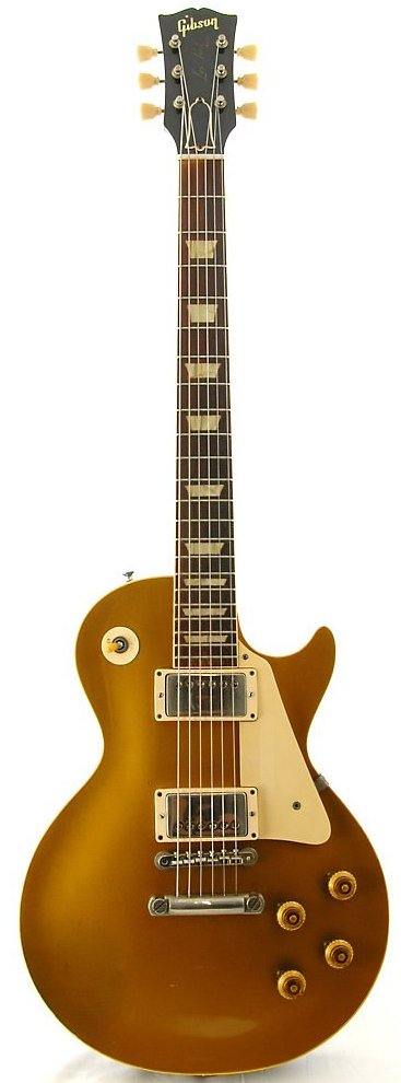 GIBSON LES PAUL custom GOLDTOP 1957