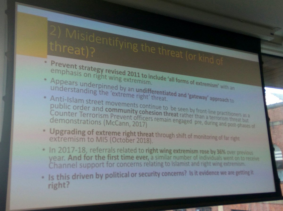 #RightWingExtremism needs to be taken seriously by states, which was tragically demonstrated in New Zealand. Reciprocity between right-wing and Islamic extremism was discussed at the #ExtremismResearchForum where BCSP Executive Director @nadkoordinator shared insight from Serbia.<br>http://pic.twitter.com/lGb5WlLHAE