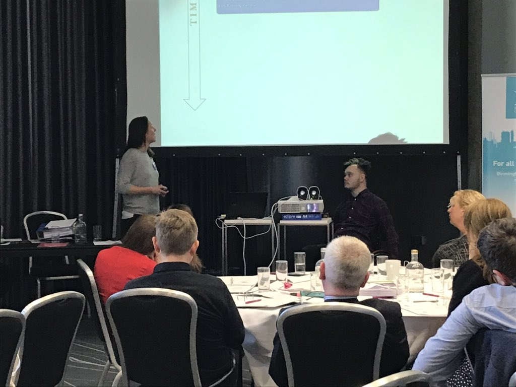 It's been a great day at our solicitors training @No5Chambers but we have our last speaker Kirsty from @HobbsRehab with her client Jack. Good rehab is so important for long term health benefits. #TeamSIA