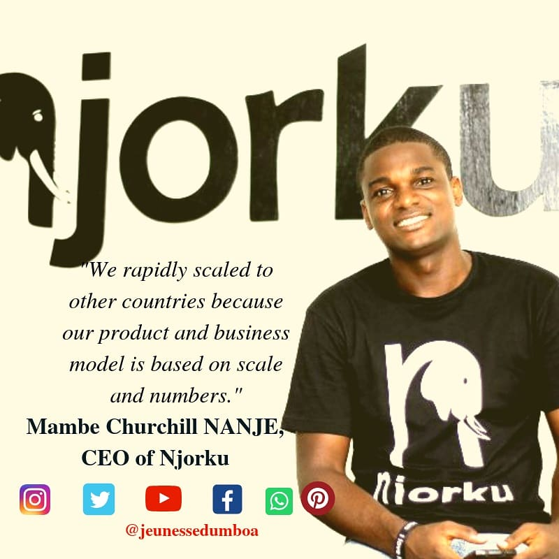 Do you know Njorku ? 🙂 In 2017, we met Churchill Nanje,  one of the founders of Njorku, which is «one of the largest employment search platforms in Africa»   Follow the link to discover the platform that will change your professional life : https://t.co/qpIJnE8P2Q #startup https://t.co/pO6ST6kadi