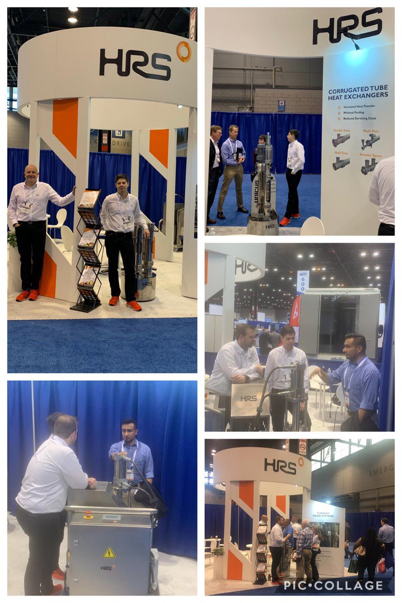 test Twitter Media - Last day of the ProFood Tech 2019 @profoodtech. Here is a snap shot of the week at HRS Stand 698. Visit us before the day is over and find out about our #innovative products and services for your #foodprocessing needs! #ProFoodTech  #processingweek #heatexchangers #tradeshow https://t.co/qvcIlubRQn