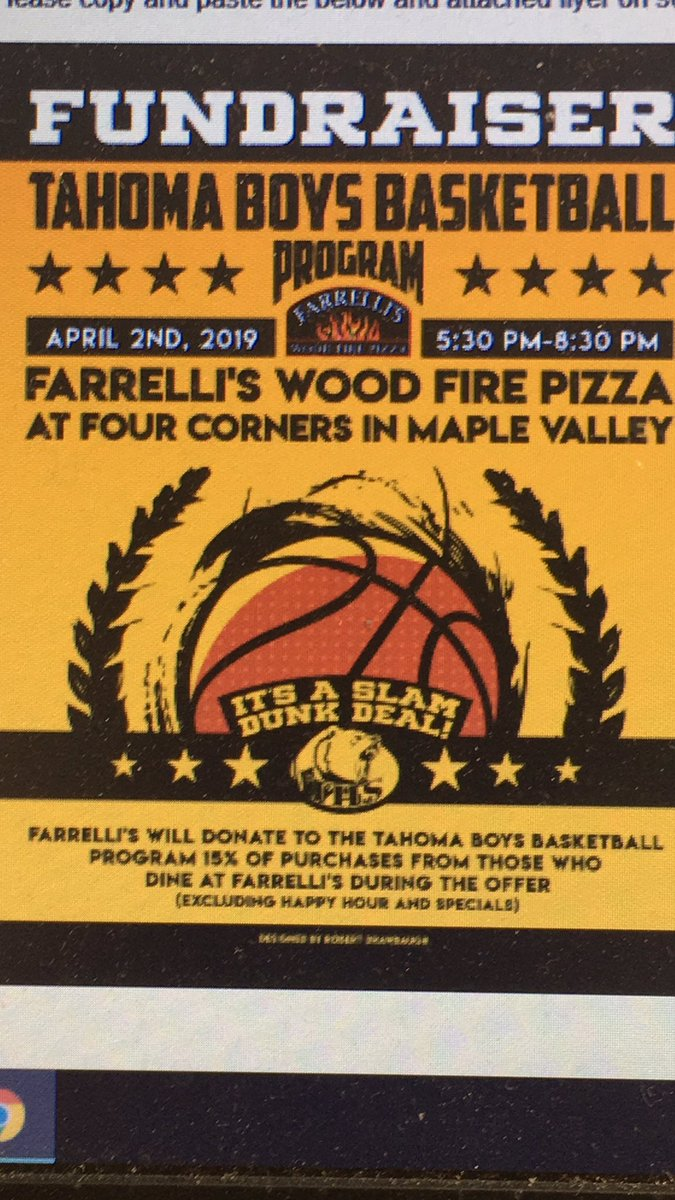 test Twitter Media - RT @IanFurnessSea: Tuesday in the #MV come out to @Farrellis and support @thsbears Boys Hoops https://t.co/aGq3YcnFba