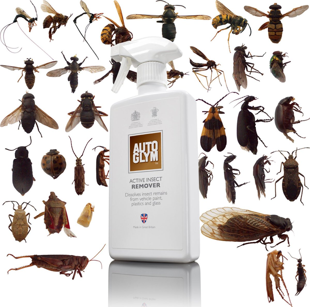 🦗🤓 ! INSECTS ASIDE ! 🤓🦗Yesterday we asked what BUGS you most about removing insect remains from your pride and joy. Click here to see our best product and method for tackling this issue https://www.autoglym.com/active-insect-remover …