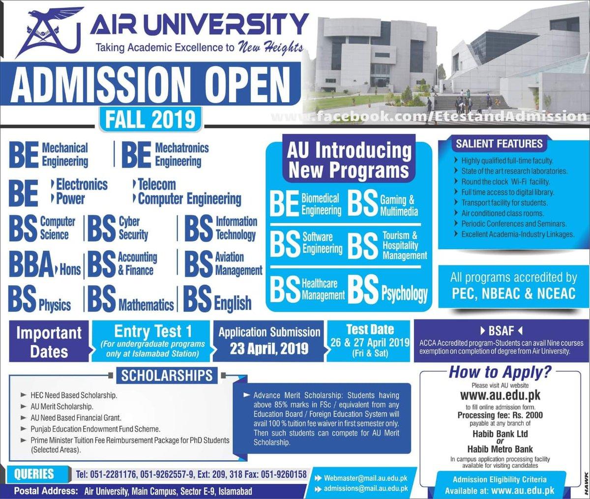 Islamabad Universities 🏛 (@IslamabadUnive1) | Twitter