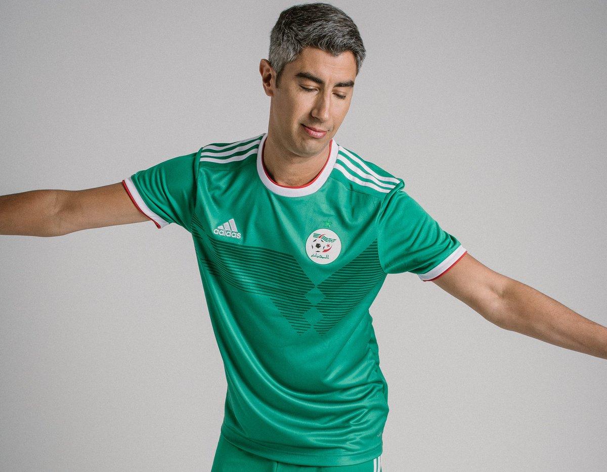 Algérie : les maillots de la CAN 2019 ont été présentés