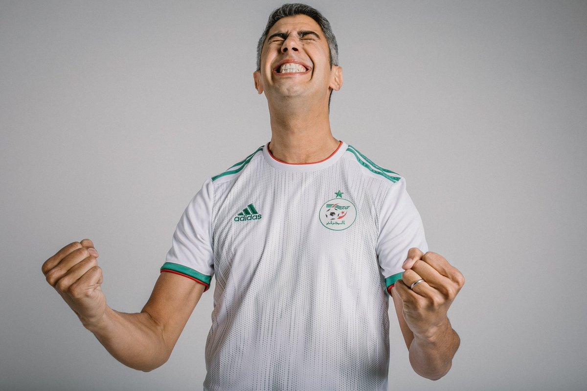 بالصور .. قميص المنتخب الجزائري الجديد الخاص بكأس أمم أفريقيا 2019 27