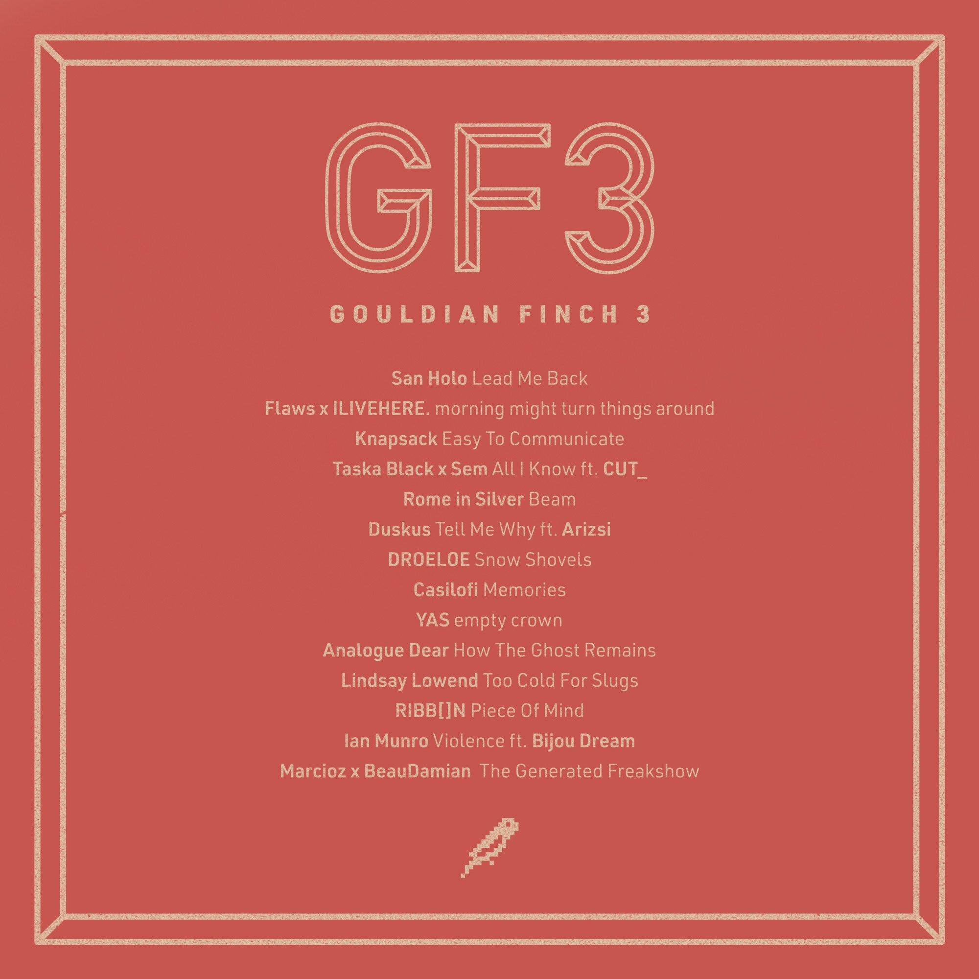 Gouldian Finch 3 Tracklist