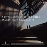 "How do you determine whether a real estate investment is too good to be true? There are certain indicators that may help investors identify these riskier investments.Here are the five ""gotchas"" to consider before you invest in commercial real estate: https://t.co/qiZJ335hCS"