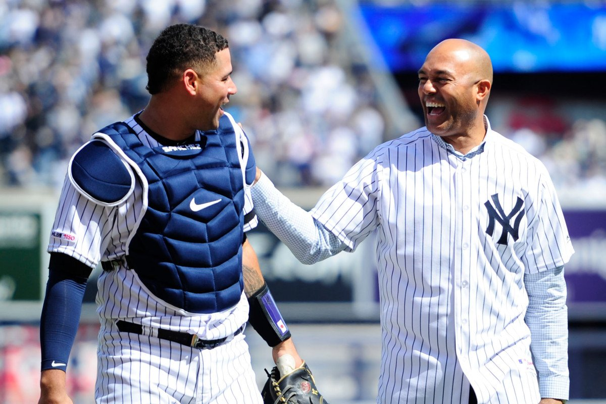 8433be0c2 mariano rivera opens yankees season with world series prediction