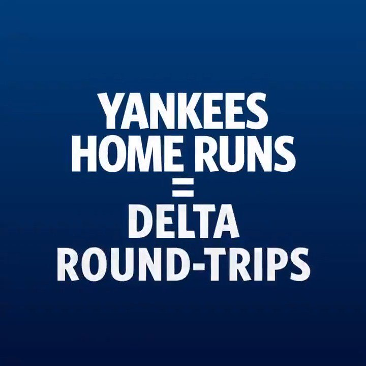 Fly like that baseball did. RT this tweet to enter for a chance at a free round-trip flight from @Delta. Rules: https://atmlb.com/2TF770O  #Sweepstakes