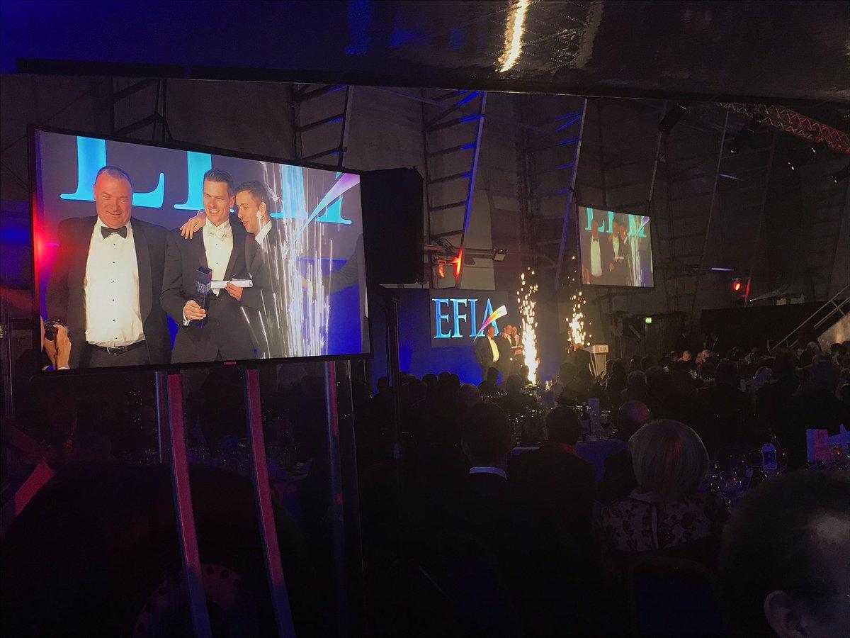 The Technical Innovation - Printer gold award goes to @Saicaflexuk for their water-based flexo printing on corrugated metpol liners 👏🏻 #EFIAPrintawards2019 https://t.co/eSNTZdnCvS