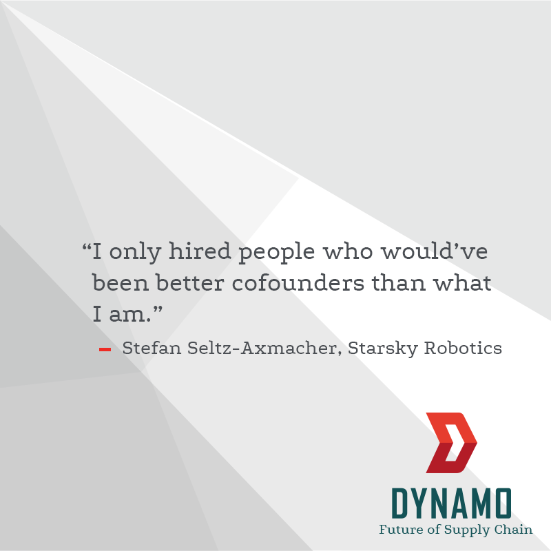 Stefan Seltz-Axmacher shares the origin story of Starsky Robotics on the http://Dynamo.vc  podcast. Check it out! https://bit.ly/2JMsrBJ   #selfdriving #autonomous #robotics