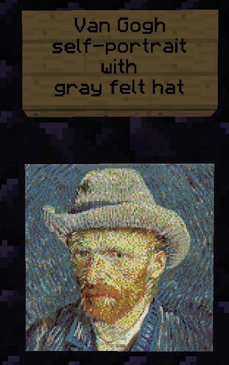 BarrenDome My #VanGogh self-portrait with gray felt hat