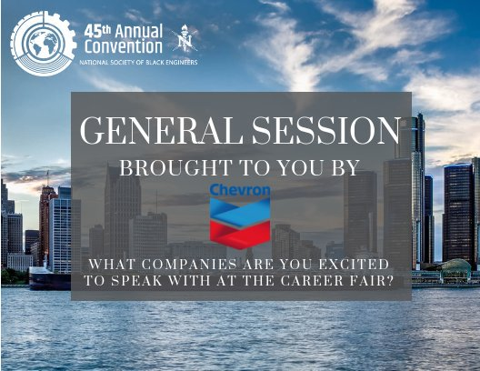 Nsbe Convention 2020 Career Fair.Nsbe Convention On Twitter General Session Brought To You
