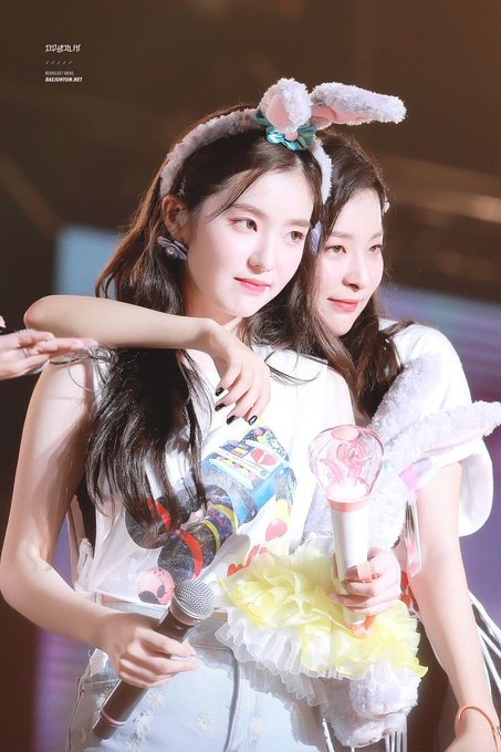 Happy birthday kaka nya seulgiii Irene is the most beautiful leader