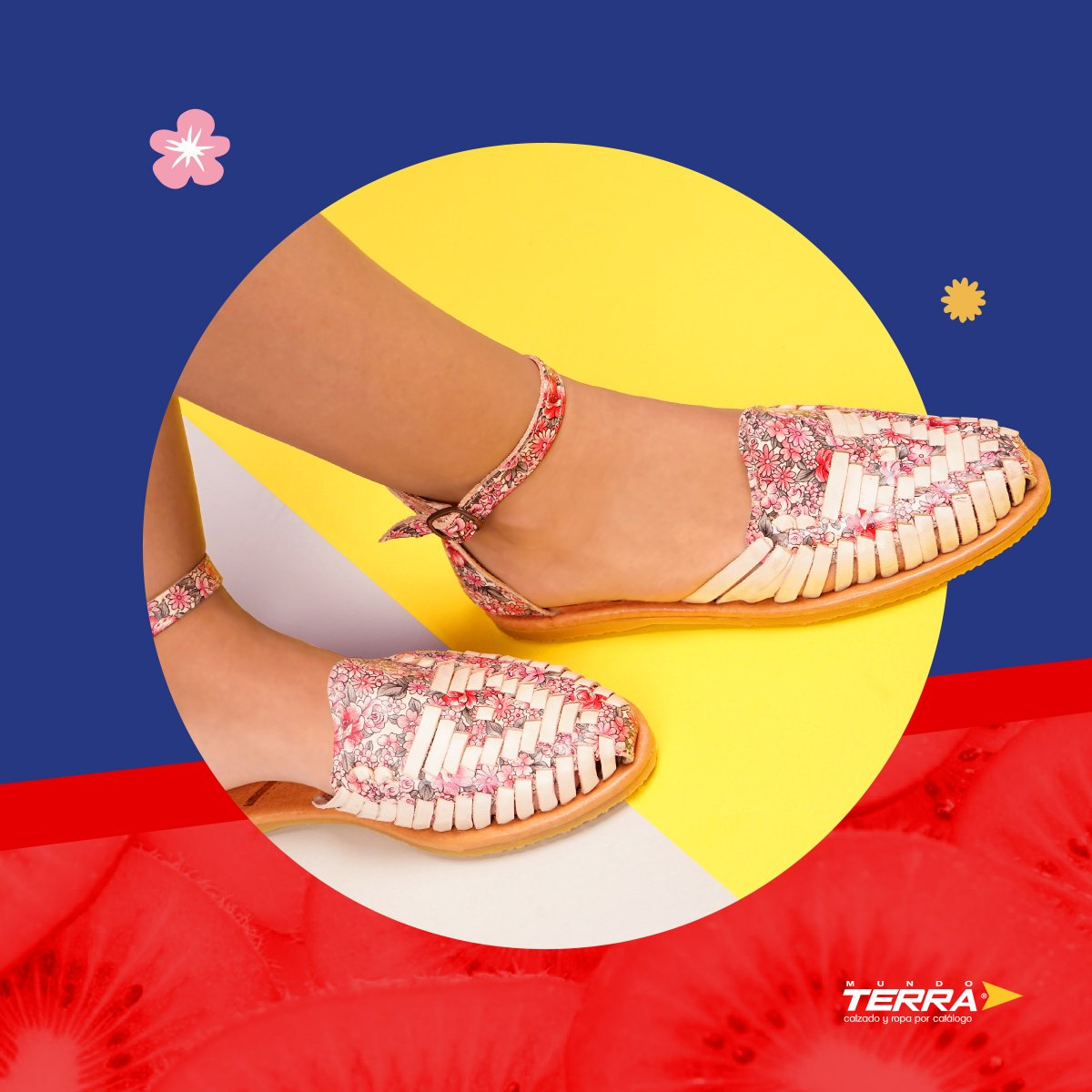 La temporada de flores llegó a nuestros zapatos más frescos.   #mundoterra #shoes #loveshoes #primavera #loveit #ropa #zapatos https://t.co/1bWZunVLsZ