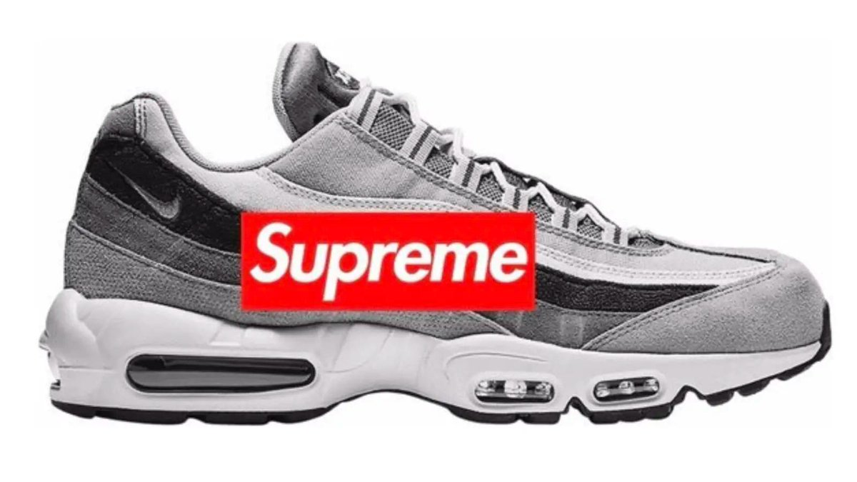 80ba1ea145 supreme rumored to drop a 500 nike air max 95 collab with swarovski crystals