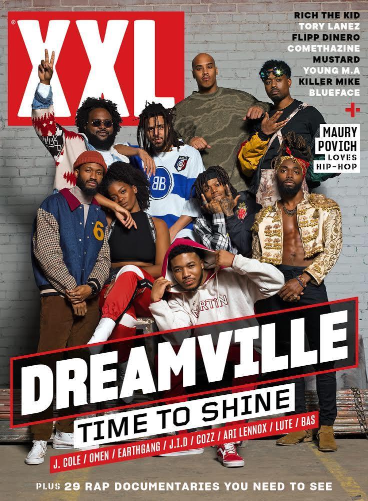 Whole squad made the cover. PRADA U. DREAMVILLE.