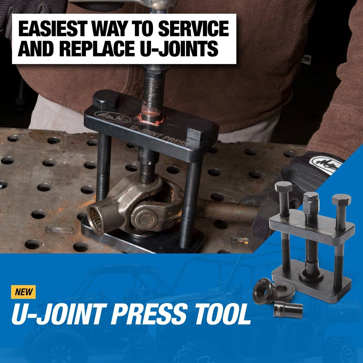 Motion Pro 08-0438 U-Joint Press Tool for ATV UTV