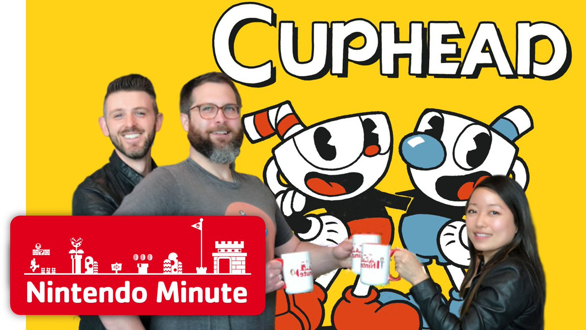 In this week's #NintendoMinute episode, Kit & Krysta attempt (strong emphasis on the word attempt) to play Cuphead, coming to #NintendoSwitch on April 18. https://youtu.be/9nAcWX_xqY8