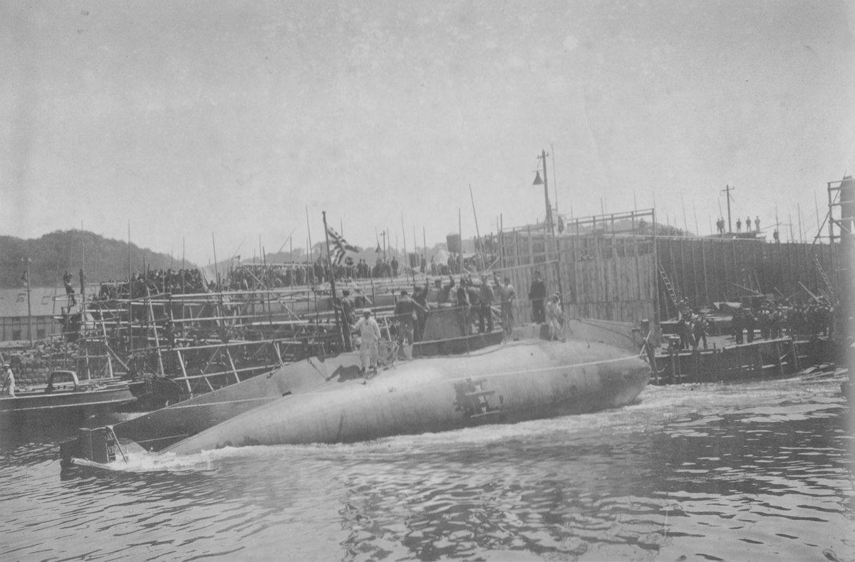 """J on Twitter: """"3月30日の写真 第1潜水艇 (→第1潜水艦) 日付 1905年3 ..."""