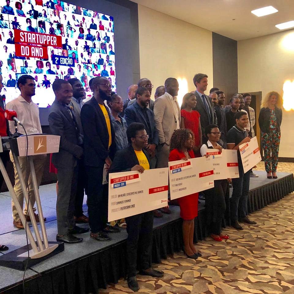 Parabéns Startuppers! | Congratulations Startuppers! Here the Startupper of the Year by Total: #Kubinga #Angola100Lixo #ONDE! #MenosLixo #TotalStartupper  #angola #startup