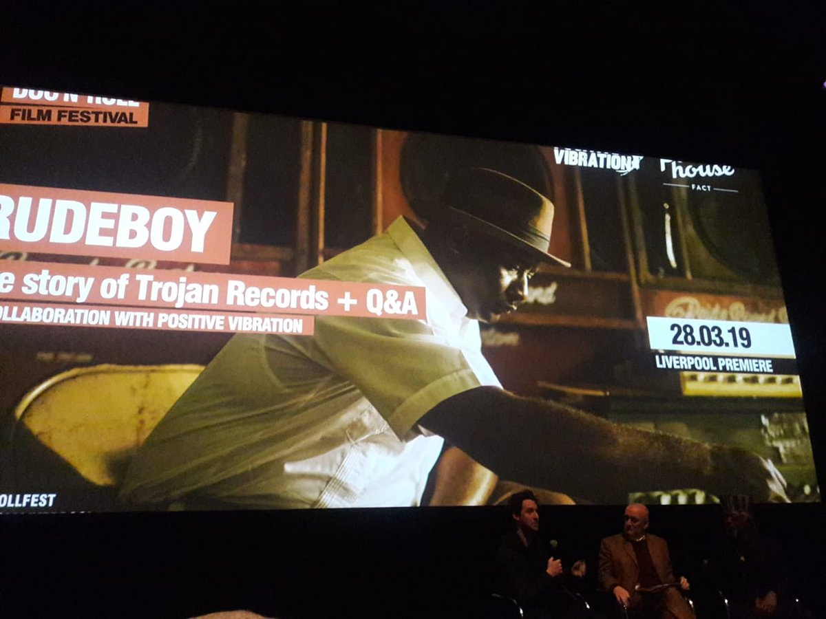 a01b541dc ... of Rudeboy: The Story of @trojanrecords - A truly incredible film from  start to finish. Props to @IREmurals @LeviTafariPoet @NICOLASJACK for an ...