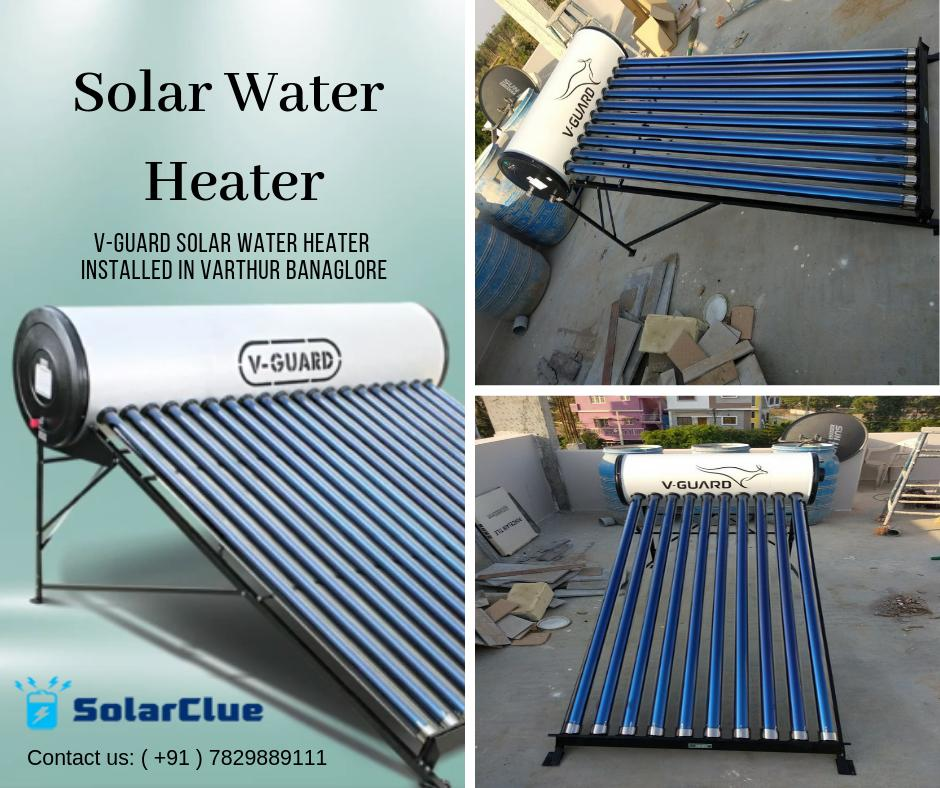 We successfully completed the V-Guard Solar Water Heater Installed project in Varthur Bangalore. #Solar #Solarwaterheater #Waterheater #Solarproduct #Vguard #bangalore Get the best offer on Solar Water Heater👇 https://www.solarclue.com/solar-appliances/solar-water-heater?ajaxfilter=f7-brand,v-guard …