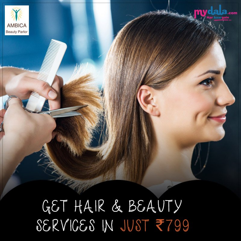 Get Hair & Beauty services In Just Rs.799 #booknow #hairservices #beautyservices #offers #deals Click Here To Book Now: https://t.co/qXEvbeJD0o https://t.co/JdSsdQMUyi
