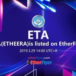 Image for the Tweet beginning: Etheera (ETA) is now listed