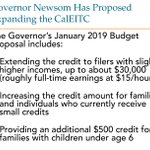 Image for the Tweet beginning: A5: @GavinNewsom is proposing to
