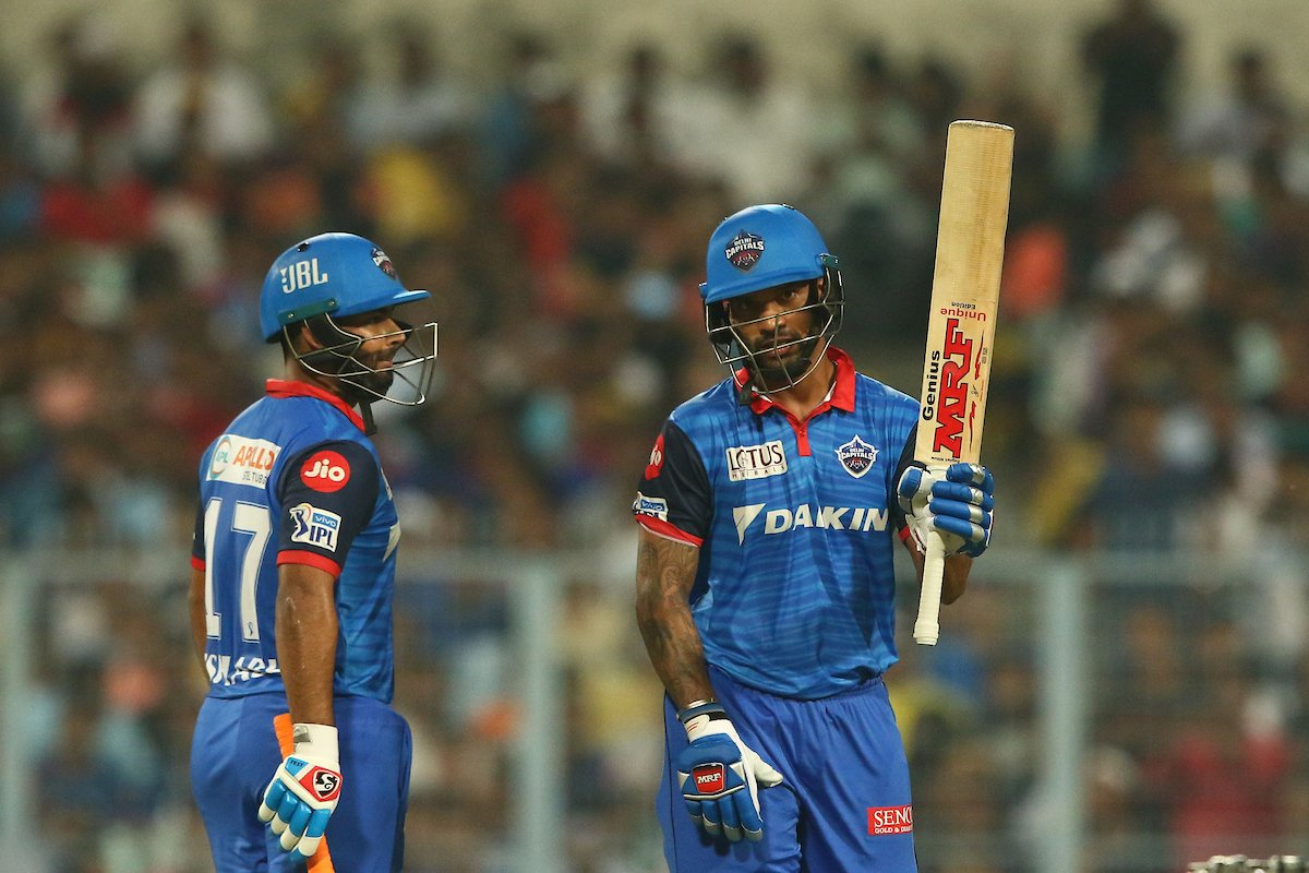 IPL 2019: Match 26, KKR vs DC – Twitter Erupts in Joy as Shikhar Dhawan Guides Delhi Capitals to Victory at Eden 1